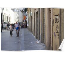 An Alley in Florence Poster
