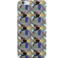 Crystal Cluster Surface Pattern Design  -  Jenny Meehan  iPhone Case/Skin