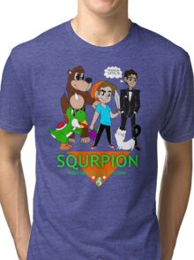 Squrpion- Welcome to the Cyclone Tri-blend T-Shirt