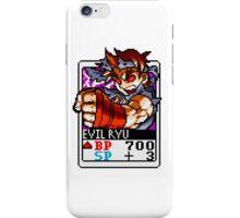 Evil Ryu iPhone Case/Skin