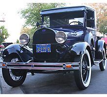 1930 Model A Ford Pick-Up  Photographic Print