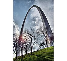 Jefferson National Expansion Memorial, St. Louis, Eero Saarinen Photographic Print