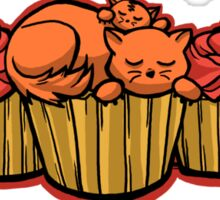 Cupcake Cats Sticker