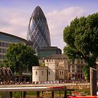 &quot;The Gherkin&quot;, London by Chris Millar