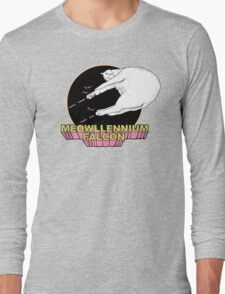 Meowllennium Falcon Long Sleeve T-Shirt
