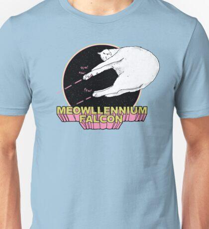 Meowllennium Falcon Unisex T-Shirt