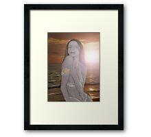 LATIN SHORES Framed Print