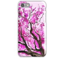 Watercolour Cherry Blossoms iPhone Case/Skin