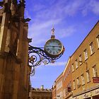 Coney Street Clock, York, England by Chris Millar