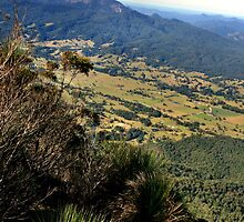 Mount Warning by hans p olsen