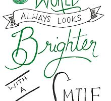 Brighter with a smile by petitsbonheurs