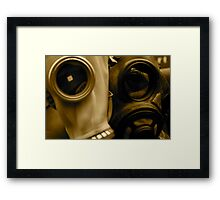 Masks at Portobello Markets, London Framed Print