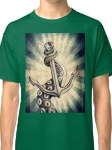 Rise of the Deep Ones (Rusty Retro Edit) Classic T-Shirt