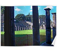 Pompeii Forum Poster