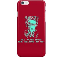 All Your Base - Red T iPhone Case/Skin