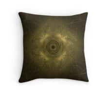 Druid Fractal Throw Pillow