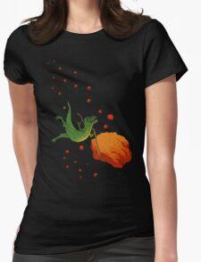 YOLO Dinosaur Lassoes an Asteroid T-Shirt