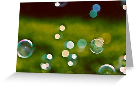 Land of bubbles and childhood dreams by Julia Goss
