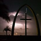 Lightning Cross by Larry  Grayam