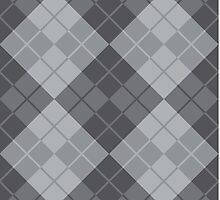 Gray Argyle by Lisann