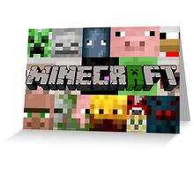 Minecraft Greeting Card