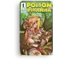 Poison Piranha - Naughty Princess Collection Canvas Print