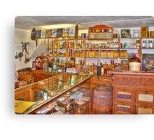 General Store & Post Office-3 Canvas Print