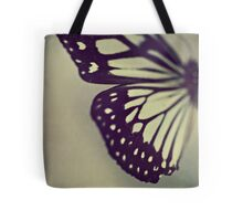 Black and White Wing Tote Bag