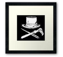 Syndicate inspired pirate flag Framed Print