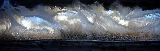 Wild Surf or Icy Window? by Susan S. Kline