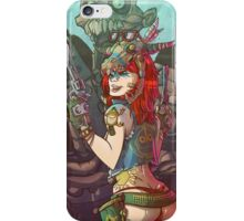 LucyLips Sexshooter - Naughty Princess Collection iPhone Case/Skin