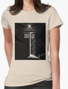 Doctor Who TARDIS Womens Fitted T-Shirt