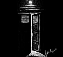 Doctor Who TARDIS by LydiaSivyer