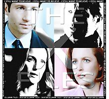 i still want to believe - the x-files Photographic Print