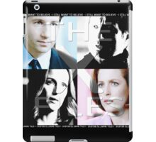 i still want to believe - the x-files iPad Case/Skin
