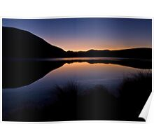 First Light - Lake Clearwater NZ Poster