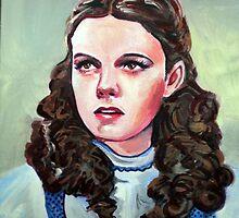 Judy Garland by Leigh Ann Burchell by Paintvalentine