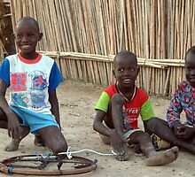 Playmates in Malakal, Upper Nile State, Southern Sudan by Compassion