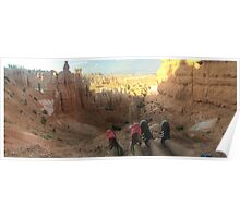 Bryce Canyon Trail Poster