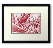 The Alien lecture Framed Print