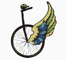 Angel Bike Kids Tee