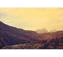 Austrian Alps Photographic Print
