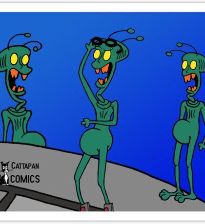 ZEEK ... The Martian Geek Sticker