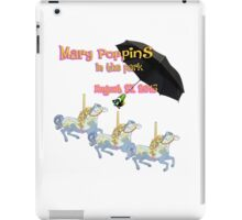 Mary Poppins In The Park iPad Case/Skin