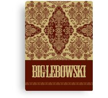 The Big Lebowski Rug Canvas Print