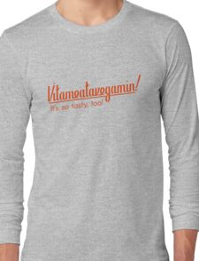 Vitameatavegamin! Long Sleeve T-Shirt