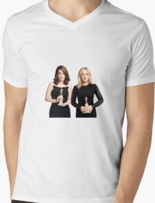 Tina & Amy GG15 Mens V-Neck T-Shirt