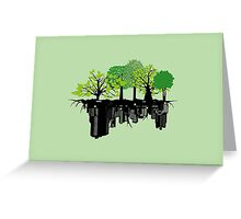 Ecology problem Greeting Card
