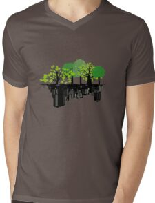Ecology problem Mens V-Neck T-Shirt