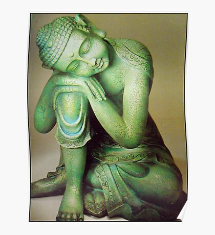 (ever)Green Buddha Poster